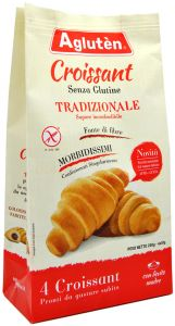 Agluten Croissant Traditionnel 4 X 50 g.