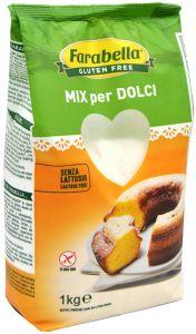 Farabella  Mix pour Gâteaux Sans Gluten 1 Kg.