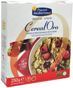 Piaceri Mediterranei Flakes with Red Fruits 250 g.