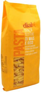 Dialsì Corn and Rice Penne Gluten Free 1Kg.