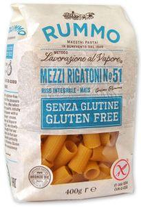 Rummo Mezzi Rigatoni n°51 Sans Gluten 400 g.