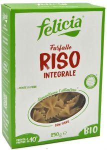 Felicia Farfalle di Riso Integrale Senza Glutine Bio 250 g.