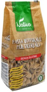 Nativa Multigrain Conchiglie  400 g.