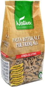 Nativa  Mezze Penne  Multigrains 400 g.