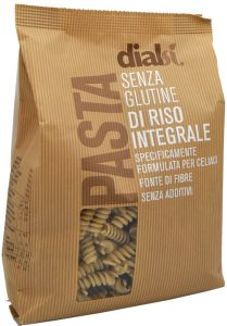 Dialsì Wholegrain Rice Fusilli  400 g.