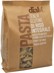Dialsì Wholegrain Rice Penne 400 g.