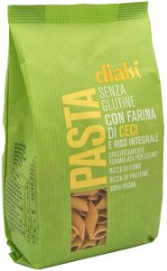 Dialsì Wholegrain Rice and Chickpeas Penne   240 g.