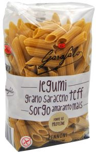 Garofalo Penne  of  Legumes and Cereals Gluten Free 400 g.