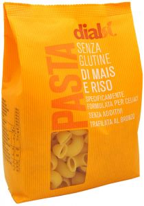 Dialsì Corn and Rice Pipe Pasta 400 g.