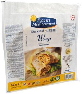 Piaceri Mediterranei Piadina Wrap Gluten Free 3 X 60 g.