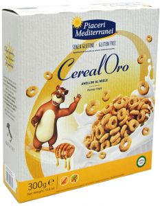 Piaceri Mediterranei Honey Riings  300 g.