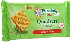 Mulino Bianco Quadretti Sans Gluten 200 g.