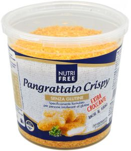 Nutrifree Pangrattato Crispy Senza Glutine 250 g.