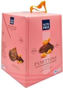 Nutrifree  Cocoa and Apricot Panettone 400 g.