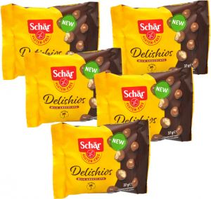 Schär Delishios 5 X 37 g.