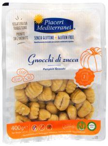 Piaceri Mediterranei Pumpkin Gnocchi Gluten Free 2 X 200 g.