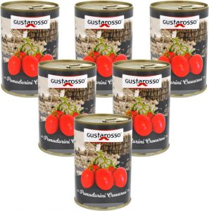 Gustarosso Whole Crovaresi Cherry Tomatoes 6 X 400 g.