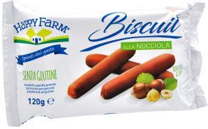 HappyFarm Biscuit alla Nocciola 120 g.