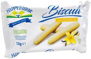 HappyFarm Biscuit alla Vaniglia 120 g.