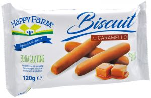 HappyFarm Biscuit al Caramello 120 g.