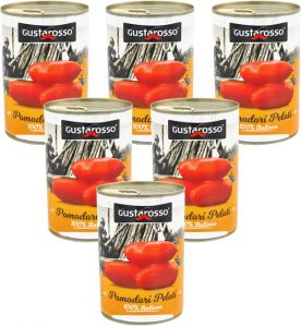 Gustarosso Peeled Tomatoes 6 X 400 g.