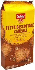 Schär Biscottes aux Céréales Sans Gluten 260 g.