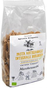 Agricola Allegretti Durum Wheat Maccheroncini Bio 500 g.