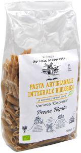 Agricola Allegretti Durum Wheat Penne Rigate Bio 500 g.