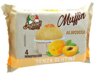 Inglese Muffin Apricot Gluten Free 4 X 40 g.