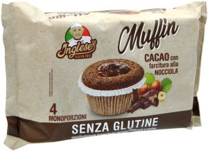 Inglese Muffin Cacao Gluten Free 4 X 40 g.
