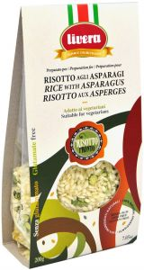 Livera Ready Risotto with Asparagus 200 g.