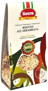Livera Risotto Pronto all'Arrabbiata 200 g.