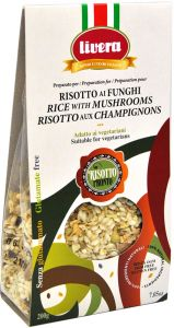 Livera Ready Risotto with Mushrooms 200 g.