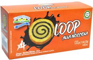 HappyFarm Loop alla Nocciola Senza Glutine 4 X 33 g.