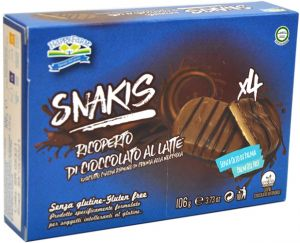 HappyFarm Snakis Cioccolato 4 X 26,5 g.