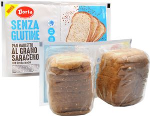 Doria Pan Bauletto with Buckwheat Gluten Free 2 X 175 g.