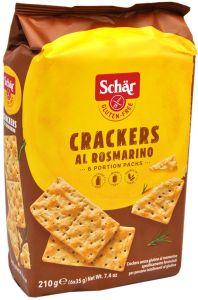 Schär Rosemary Crackers Gluten Free 6 X 35 g.
