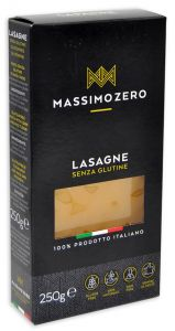 Massimo Zero Lasagne Gluten Free 250 g.