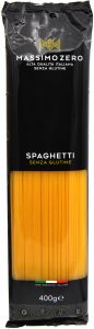 Massimo Zero Spaghetti Sans Gluten 400 g.