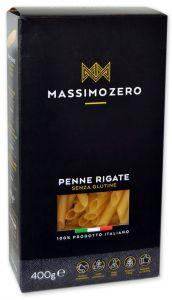 Massimo Zero Penne Rigate Sans Gluten 400 g.
