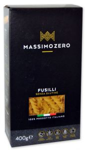 Massimo Zero Fusilli Gluten Free 400 g.
