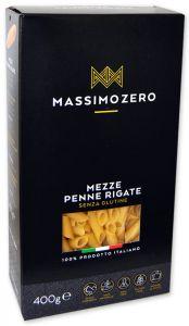Massimo Zero Mezze Penne Rigate Sans Gluten 400 g.