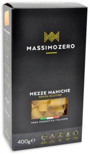 Massimo Zero Mezze Maniche Sans Gluten 400 g.