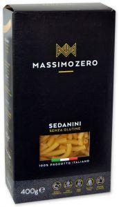 Massimo Zero Sedanini Sans Gluten 400 g.