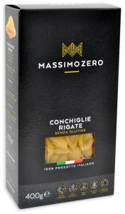 Massimo Zero Conchiglie Rigate Sans Gluten 400 g.