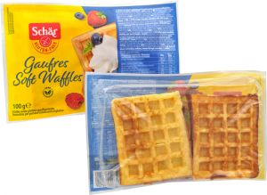 Schär  Soft Waffles Sans Gluten 4 X 25 g