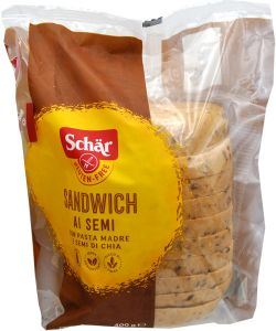 Schär Sandwich ai Semi Senza Glutine 400 g.