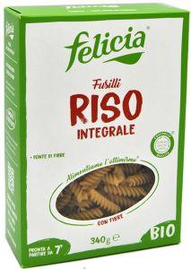 Felicia Fusilli de Riz Complète Sans Gluten Bio 340 g.