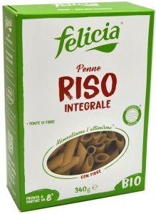 Felicia Penne di Riso Integrale Senza Glutine Bio 340 g.