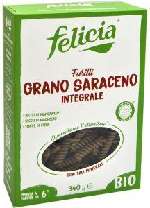 Felicia Fusilli de Sarrasin Sans Gluten Bio 340 g.